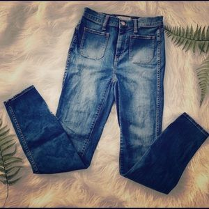Madewell Sailor Jeans